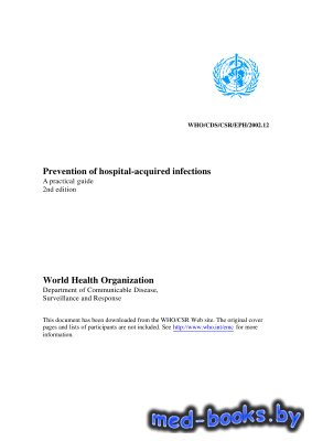Prevention of hospital-acquired infections: A practical guide - Ducel G., F ...