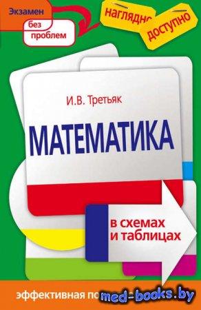 Математика в схемах и таблицах - Ирина Третьяк - 2017 год