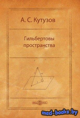 Гильбертовы пространства  - Антон Кутузов - 2014 год
