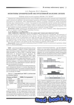 Фенотипы хронической обструктивной болезни легких - Королева А.А., Журавков ...