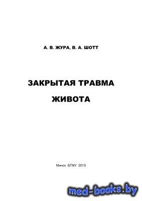 Закрытая травма живота - Жура А.В., Шотт В.А. - 2015 год