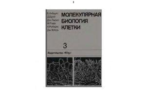 Молекулярная биология клетки. Том 3 - Албертс Б.А., Брей Д.Д., Льюис Дж.Дж. ...