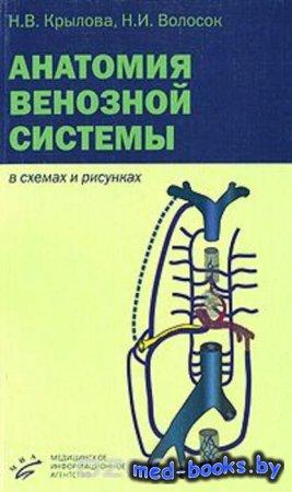 Анатомия венозной системы в схемах и рисунках - Н. В. Крылова, Н. И. Волосок - 2006 год