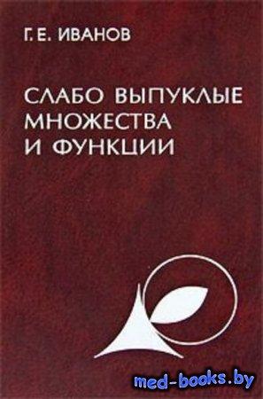 Слабо выпуклые множества и функции. Теория и приложения - Григорий Иванов - 2006 год