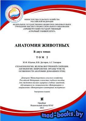 Анатомия животных. Том 2 - Дегтярев В.В. - 2013 год