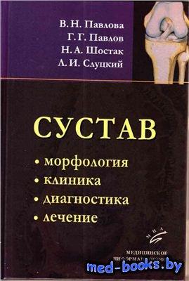 Сустав: морфология, клиника, диагностика, лечение - Павлова В.Н., Слуцкий Л.И., Шостак Н.А. - 2011 год