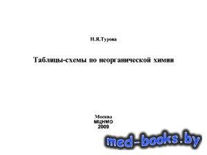Таблицы-схемы по неорганической химии - Турова Н.Я. - 2009 год